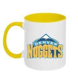 Кружка двухцветная Denver Nuggets - FatLine