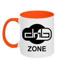 Кружка двухцветная DnB Zone - FatLine