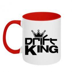 Кружка двухцветная Drift King - FatLine