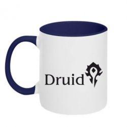 Кружка двухцветная Druid Orc - FatLine