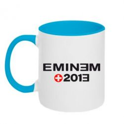 Кружка двухцветная Eminem 2013 - FatLine