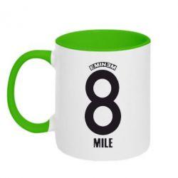 Кружка двухцветная Eminem 8 mile - FatLine