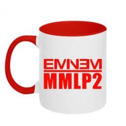 Кружка двухцветная Eminem MMLP2 - FatLine