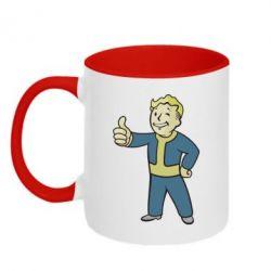 Кружка двухцветная Fallout Boy - FatLine