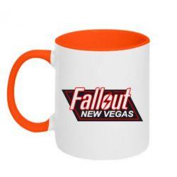 Кружка двухцветная Fallout New Vegas - FatLine