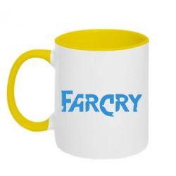 Кружка двухцветная FarCry - FatLine