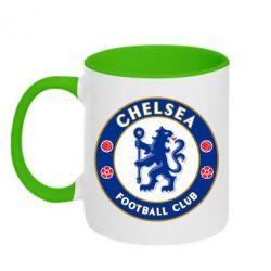 Кружка двухцветная FC Chelsea - FatLine
