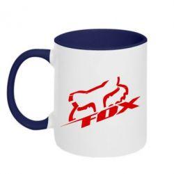 Кружка двокольорова FOX Racing - FatLine