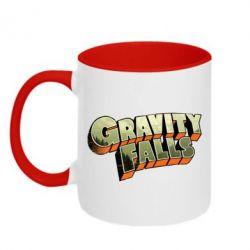 Кружка двухцветная Gravity Falls - FatLine