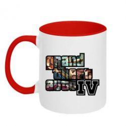Кружка двухцветная GTA V - FatLine