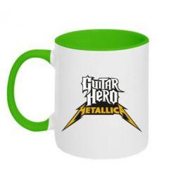 Кружка двухцветная Guitar Hero Metallica - FatLine