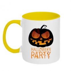 Кружка двухцветная Halloween Party - FatLine