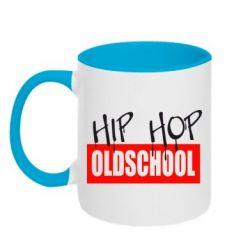 Кружка двухцветная Hip Hop oldschool - FatLine