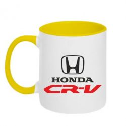 Кружка двухцветная Honda CR-V - FatLine