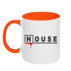 Кружка двухцветная House - FatLine