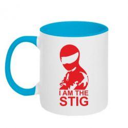 Кружка двухцветная I am the Stig - FatLine