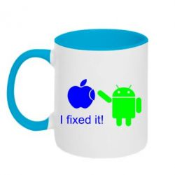 Кружка двухцветная I fixed it! Android - FatLine