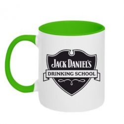 Кружка двухцветная Jack Daniel's Drinkin School - FatLine