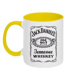 Кружка двухцветная Jack Daniel's Whiskey - FatLine