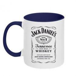 Кружка двухцветная Jack Daniel's - FatLine
