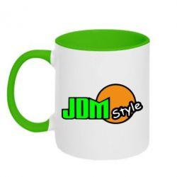Кружка двухцветная JDM Style - FatLine