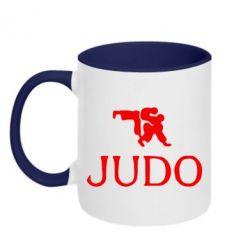 Кружка двухцветная Judo - FatLine