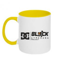 Кружка двухцветная Ken Block Gymkhana Project - FatLine