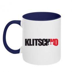 Кружка двухцветная Klitschko - FatLine