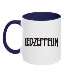 Кружка двухцветная Led Zeppelin - FatLine