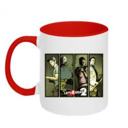 Кружка двухцветная Left 4 Dead 2 - FatLine