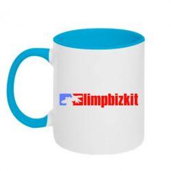 Кружка двухцветная Limp Bizkit - FatLine