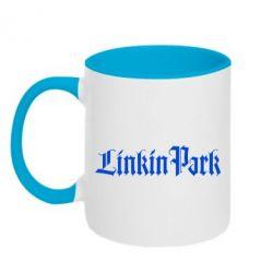 Кружка двухцветная LinkinPark - FatLine