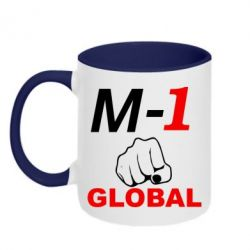 Кружка двухцветная M-1 Global - FatLine