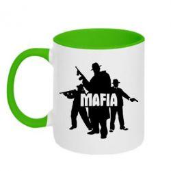 Кружка двухцветная Mafia - FatLine