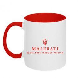Кружка двухцветная Maserati - FatLine