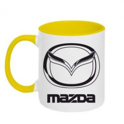 Кружка двухцветная Mazda Small - FatLine