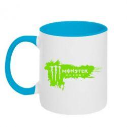 Кружка двухцветная Monster Energy Drink - FatLine