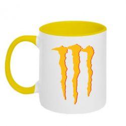 Кружка двухцветная Monster Lines - FatLine