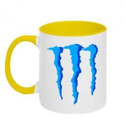 Кружка двухцветная Monster Stripes - FatLine