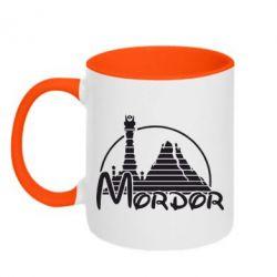 Кружка двухцветная Mordor (Властелин Колец) - FatLine
