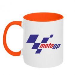 Кружка двухцветная MOTO GP - FatLine