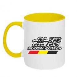 Кружка двухцветная Mugen Power - FatLine