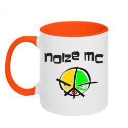 Кружка двухцветная Noize MC Logo - FatLine