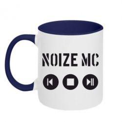 Кружка двухцветная Noize MC player - FatLine