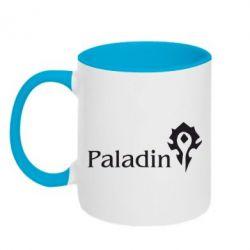 Кружка двухцветная Paladin - FatLine