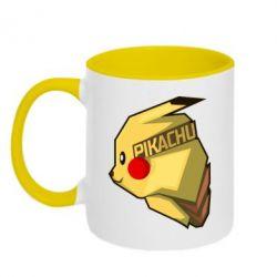 Кружка двухцветная Pikachu - FatLine