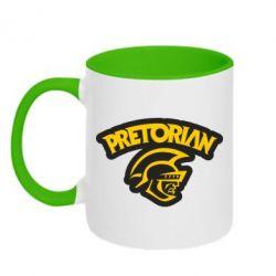 Кружка двухцветная Pretorian - FatLine