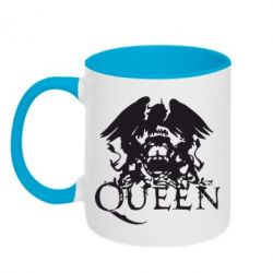 Кружка двухцветная Queen - FatLine
