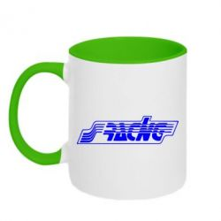 Кружка двухцветная Racing - FatLine