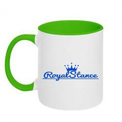 Кружка двухцветная Royal Stance - FatLine